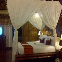 Photo taken at Santhiya Resort And Spa Koh Phangan by Sylvi R. on 10/5/2012