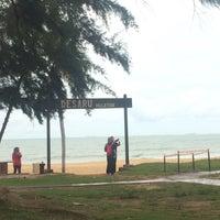 Photo taken at Desaru Beach by Nrftn E. on 11/27/2016