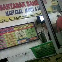 Photo taken at Martabak Bandung by Ade M. on 7/14/2013