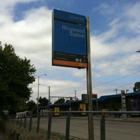 Photo taken at Ringwood Station by James C. on 1/26/2013