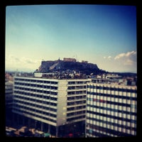Photo taken at NJV Athens Plaza Hotel by Dimitris K. on 1/28/2013