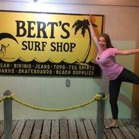 Photo taken at Bert's Surf Shop by Rachael M. on 5/12/2013