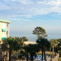 Photo taken at Beach Club Hotel Saint Simons Island by Ashley N. on 12/29/2012