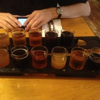 Photo taken at Moat Mountain Smoke House & Brewing Co. by Lauren S. on 9/14/2013