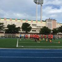 Photo taken at Thephasadin Stadium by Ratchanee V. on 10/22/2016