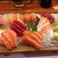 Photo taken at Nizi Sushi by Paul R. on 4/3/2015