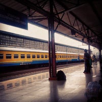 Photo taken at Pasar Senen Station by Bagaskoro Meyca D. on 7/3/2013
