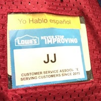 Photo taken at Lowe's Home Improvement by JJ C. on 4/24/2015