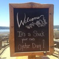 Photo taken at Hog Island Oyster Farm by Debbie L. on 5/2/2013