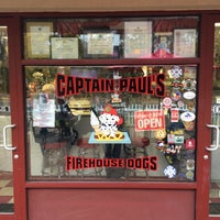 Photo taken at Captain Paul's Firehouse Dogs by Mark N. on 11/11/2015