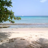 Photo taken at Upper Road View/Turtle Beach by KN R. on 5/8/2015