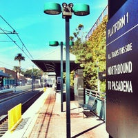 Photo taken at Metro Gold Line Del Mar Station by Luis on 10/5/2012