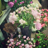 Photo taken at Flower District by Leigh F. on 5/1/2016