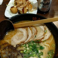 Photo taken at Ajisen Ramen by Hams S. on 4/27/2016