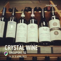 Photo taken at Crystal Wine by Aaron B. on 4/20/2013