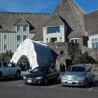 Photo taken at Timberline Lodge by Marni H. on 10/18/2012