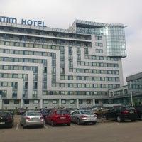 Photo taken at Bellevue Park Hotel Riga by Mantas T. on 6/5/2013