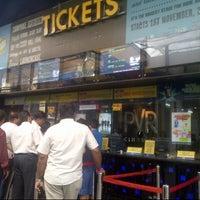 Photo taken at PVR Cinemas Kotak IMAX by Sidra :. on 11/1/2012
