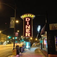 Photo taken at Deluxe Diner by Trim K. on 1/27/2013