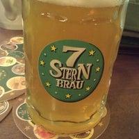 Photo taken at 7 Stern Bräu by Rui L. on 4/20/2013