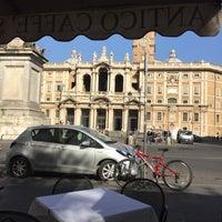 Photo taken at Antico Caffè Manzoni by Chris R. on 4/16/2016