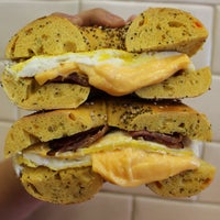 Photo taken at Town Bagel by LETTUCEDINE on 6/16/2015