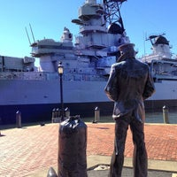 Photo taken at USS Wisconsin (BB-64) by Algernon P. on 10/15/2012