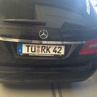 Photo taken at Mercedes-Benz by Adem Yaşar K. on 8/10/2016