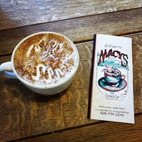 Photo taken at Macy's European Coffeehouse & Bakery by Edd M. on 2/19/2015
