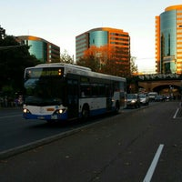 Photo taken at Eddy Ave Bus Stops by Cameron J. on 5/23/2016