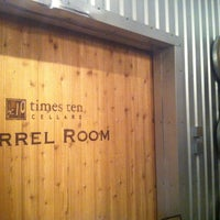 Photo taken at Times Ten Cellars by Brittany R. on 3/1/2013