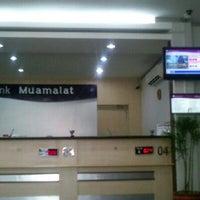 Photo taken at Bank Muamalat by Syafiq S. on 10/23/2012