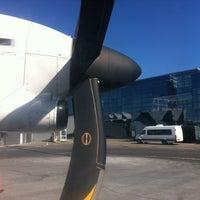 Photo taken at Riga International Airport (RIX) by Peteris E. on 4/9/2012