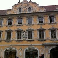 Photo taken at Stadtbücherei by Erich S. on 4/5/2012