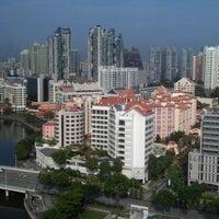 Photo taken at Novotel Singapore Clarke Quay by Adham A. on 3/10/2012