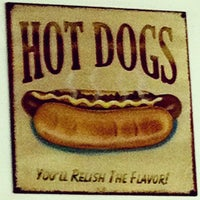 Photo taken at Brandi's World Famous Hot Dogs by rj on 4/14/2012