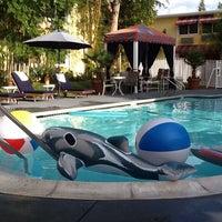 Photo taken at Wild Palms Hotel by David C. on 8/18/2012