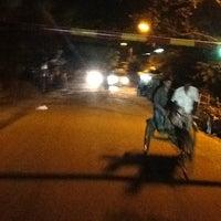 Photo taken at Niketan Traffic Jam Bridge by N R. on 6/15/2012