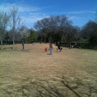 Photo taken at Wagging Tail Dog Park by SUSIE J. on 3/3/2012