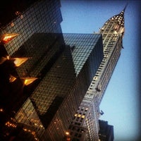 Photo taken at Chrysler Building by Vincent M. on 8/28/2012