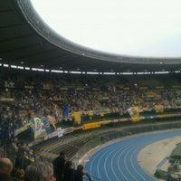 Photo taken at Stadio Marc'Antonio Bentegodi by Massimiliano S. on 5/19/2012