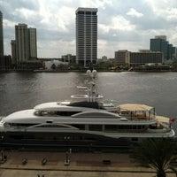 Photo taken at Hyatt Regency Jacksonville Riverfront by WaltBabyLuv on 2/23/2012