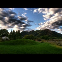 Photo taken at Aspen Meadows Resort by Veronica Who? on 9/5/2012