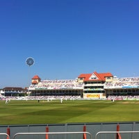 Photo taken at Trent Bridge Cricket Ground by Laurence A. on 5/26/2012