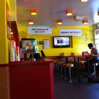 Photo taken at Lucky's Famous Burgers by Mitch Z. on 5/31/2012