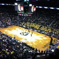 Photo taken at Matthew Knight Arena by John B. on 3/18/2012