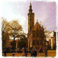 Photo taken at Jan Van Eyck Plein by Dusty S. on 4/14/2012
