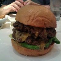 Photo taken at Umami Burger by Lisa F. on 6/20/2012