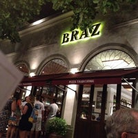 Photo taken at Bráz Pizzaria by Marcos R. on 2/11/2012