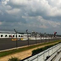 Photo taken at Pocono Raceway by Mayuri J. on 8/4/2012